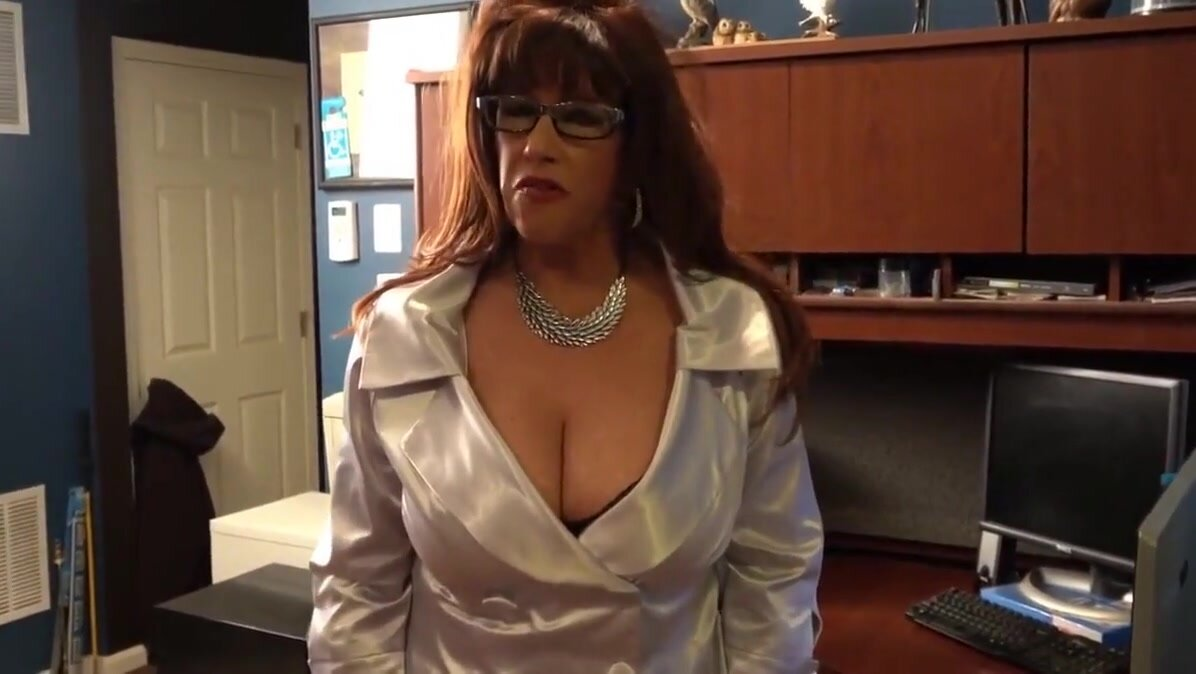 Sexy Realtor Showing Her Assets 2