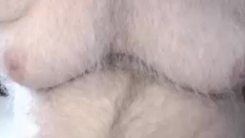 Dad showing uncut cock on cam for the first time 3