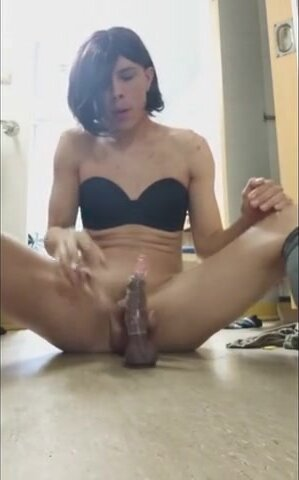 Playing with my dildo 5