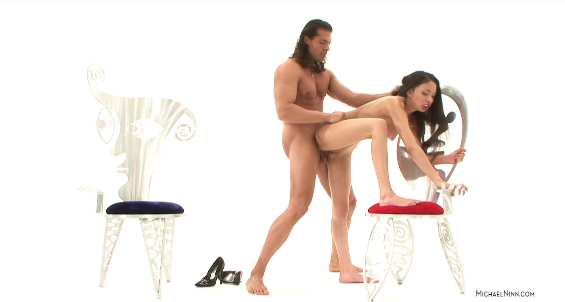 Good Action With Slutty Brunette - Alexis Love