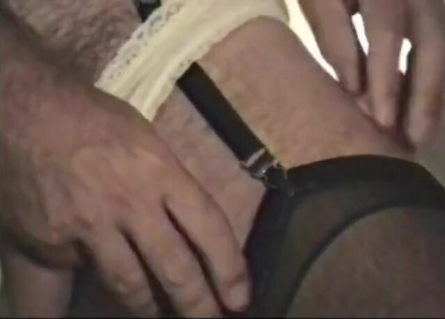 FOR MAXIPAD LOVERS! 1st time w pad in panties!-Vintage Video 3