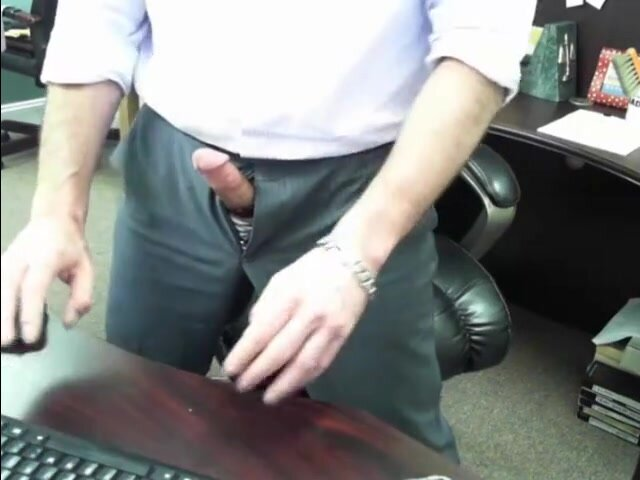 Boss Daddy's Cock is out at work 4