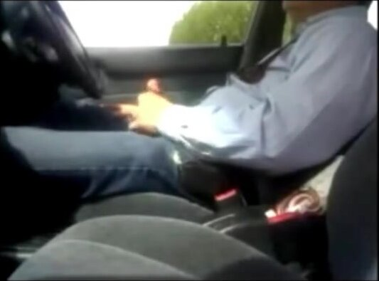 dad sucked by a stranger in his car 3